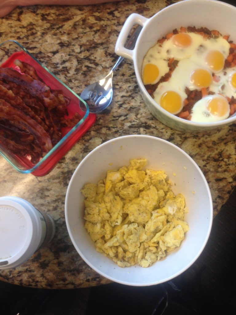eggs and bacon closeout