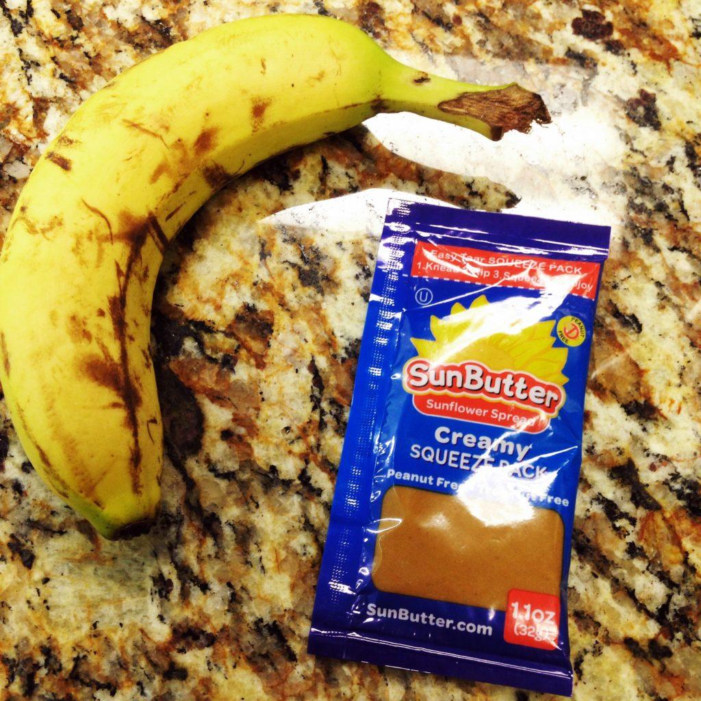 banana and sunbutter