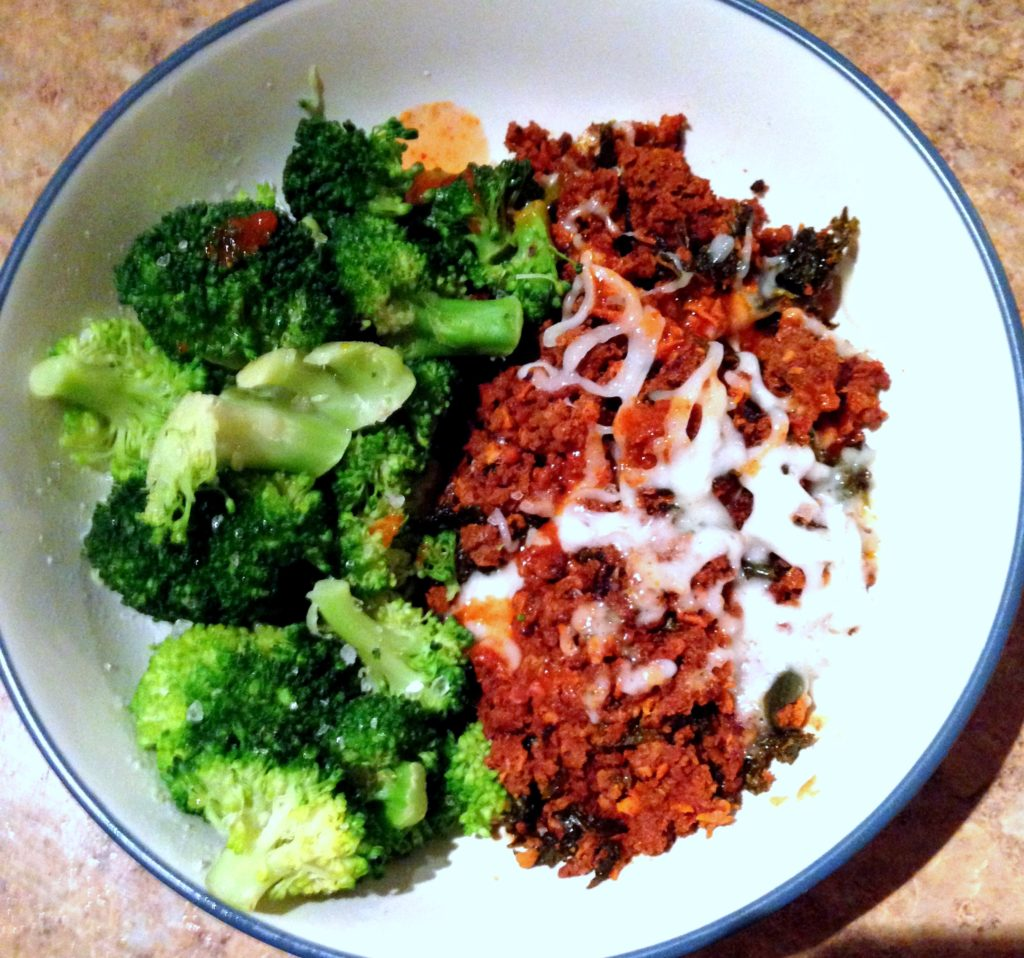 chorizo and broccoli