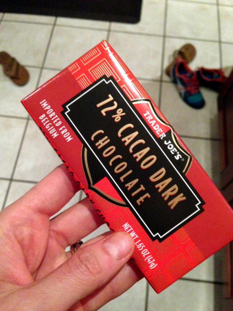 dark chocolate trader joes