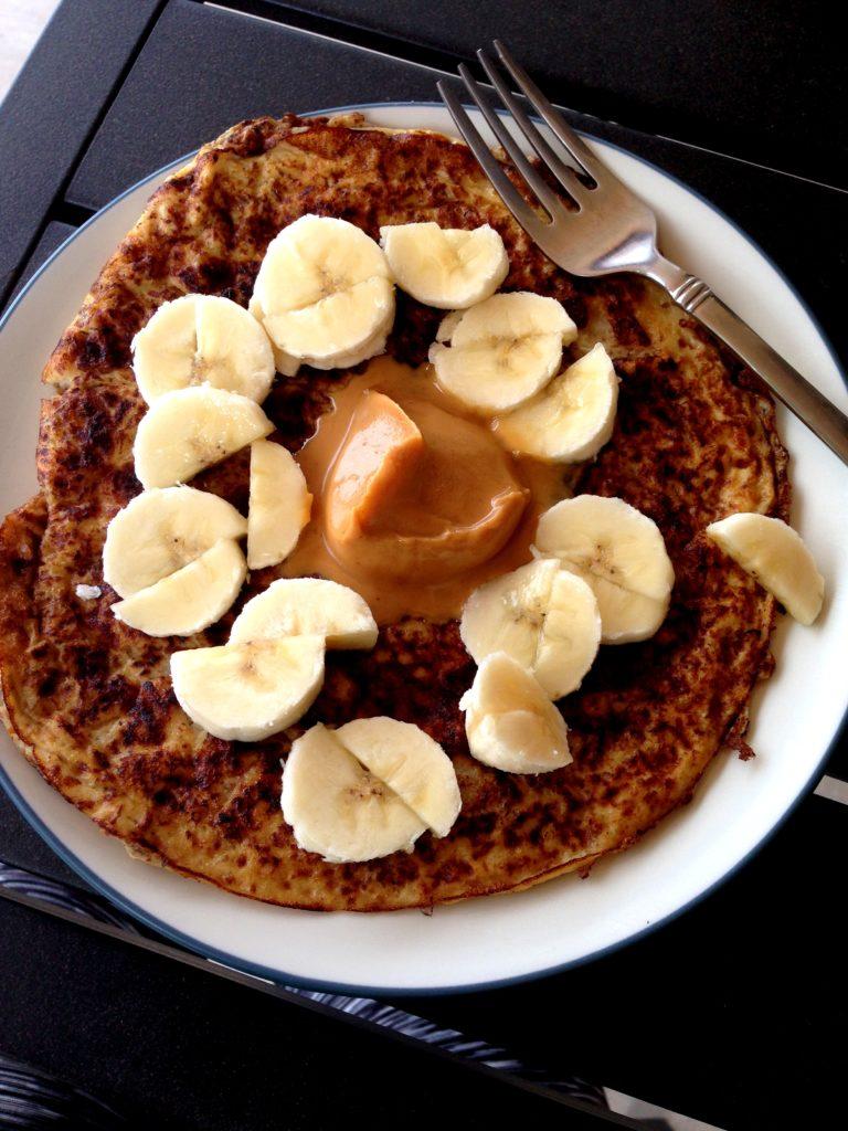 egg white pancake