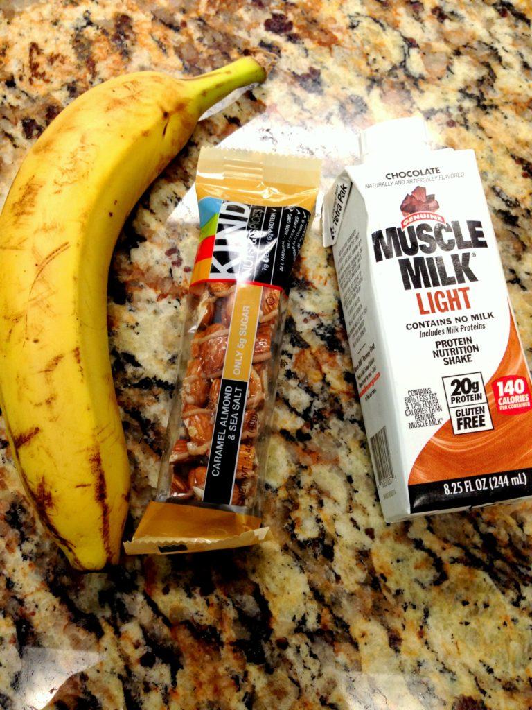 muscle milk, kind, banana