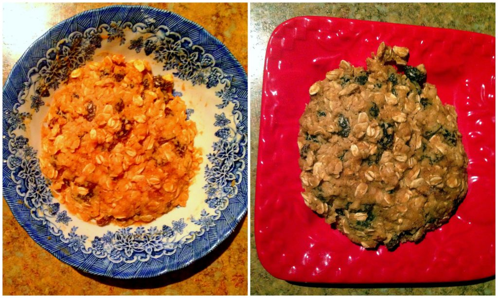 oatmeal cookie collage