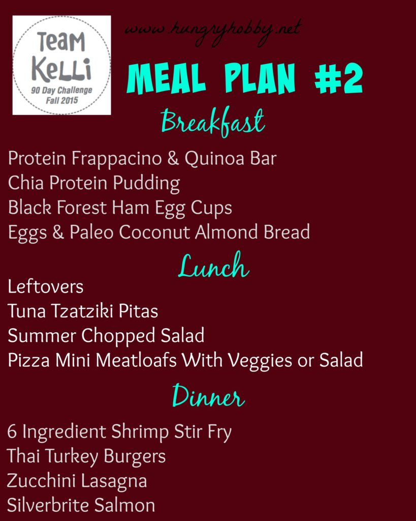 Meal Plan #2