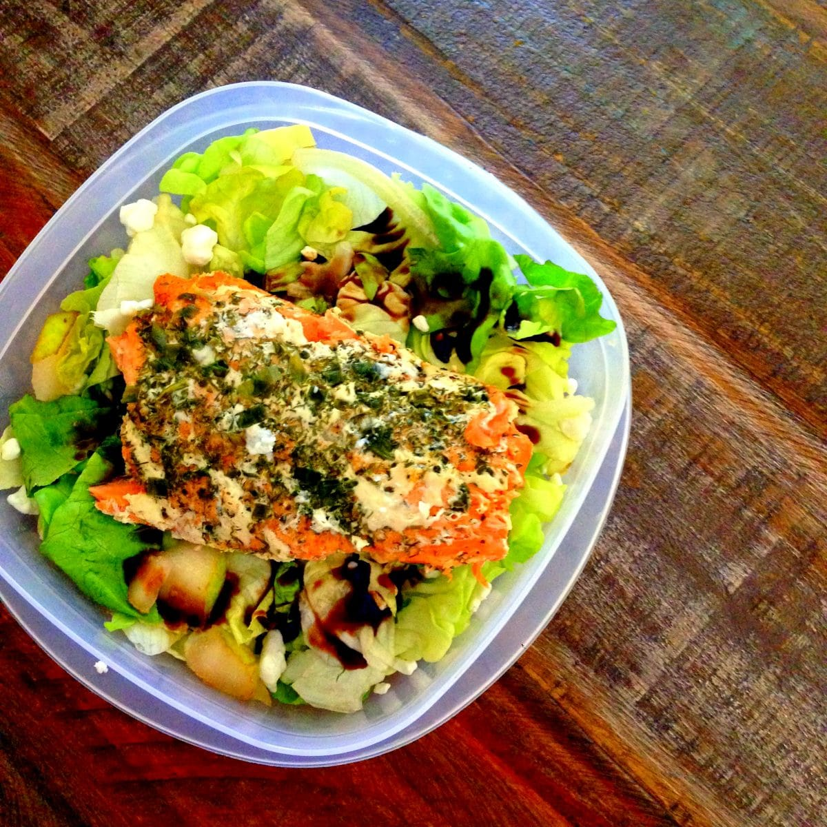 Quick Leftover Salmon Salad Recipe — Dishmaps