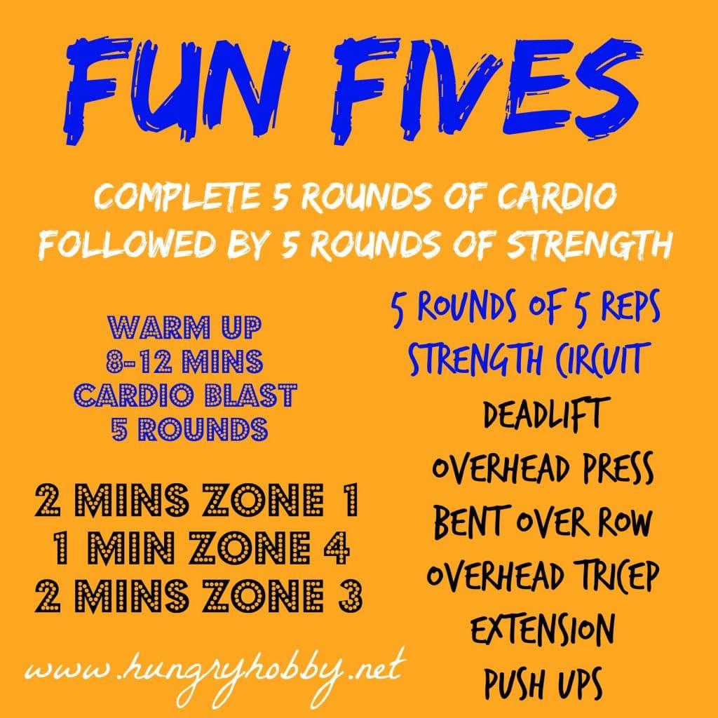 fun fives