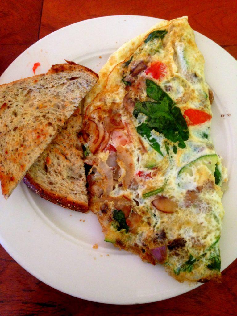 hillside omelet