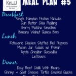 Meal Plan #5 – Fall 2015 90 Day Challenge