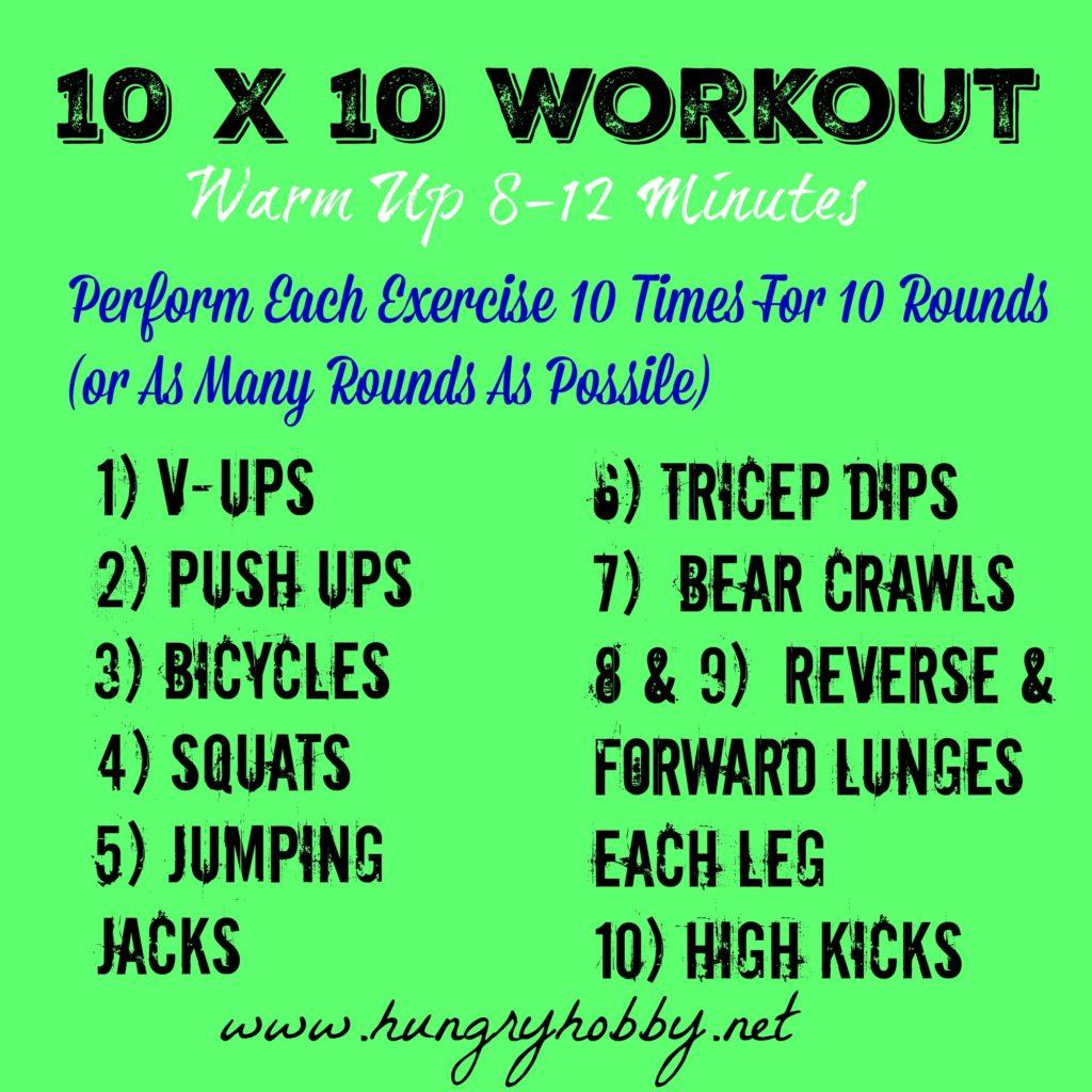 10 x 10 Workout