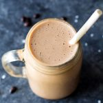 Healthy Salted Mocha Smoothie