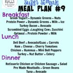 Weekend Stuff & Super Simple Week 8 Meal Ideas (90 Day Challenge Fall 2015)