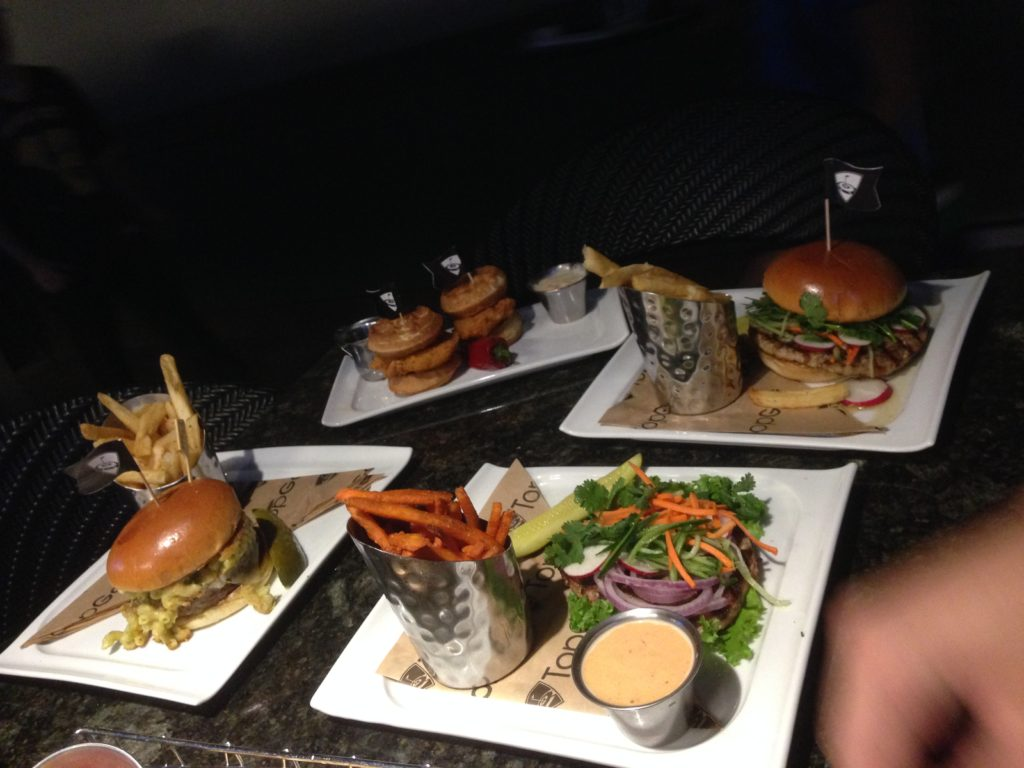 top golf food