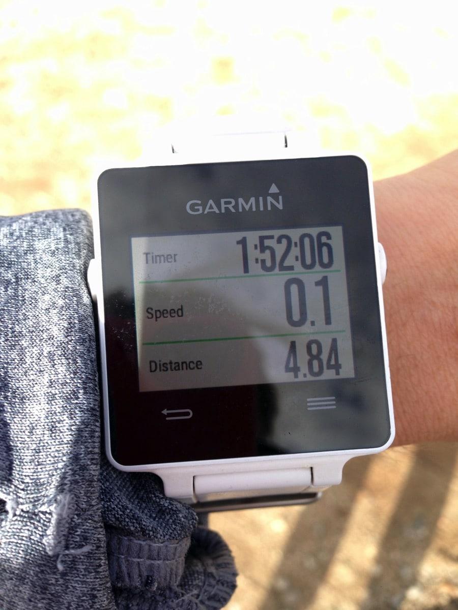 Garmin 4 84 miles