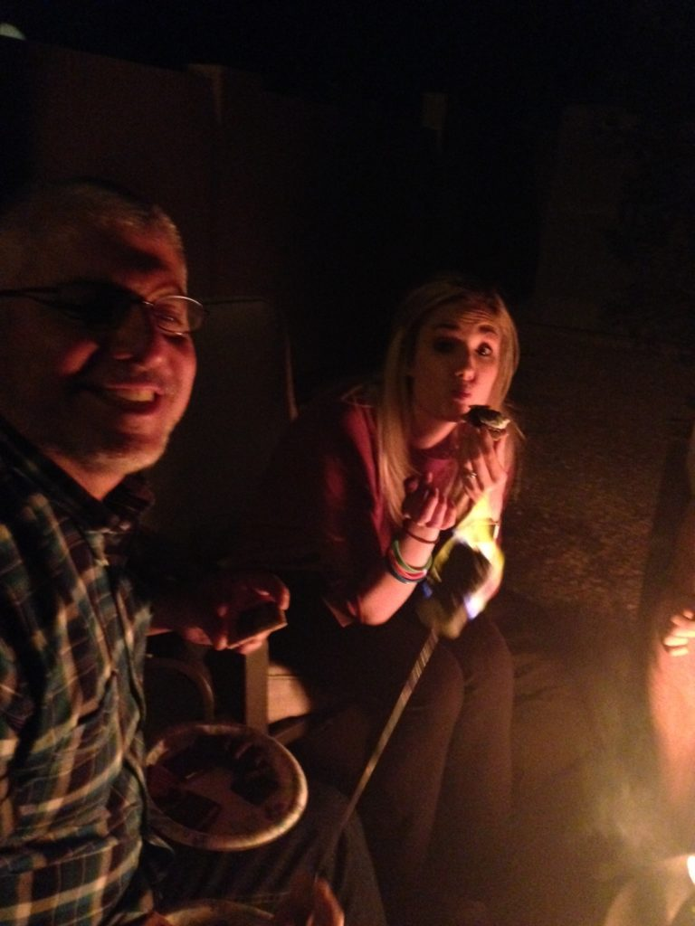 kelli and kal smores