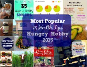 2015 health tips Round Up www.hungryhobby.net