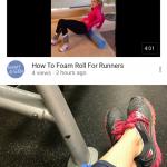 Foam Roll Tips & Video
