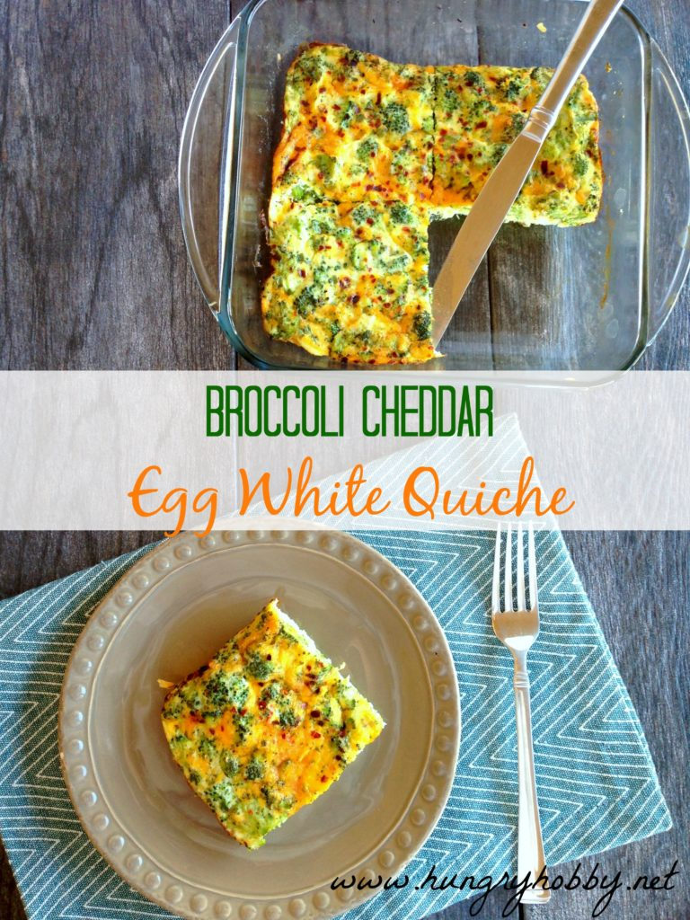 broccoli cheddar egg white quiche1