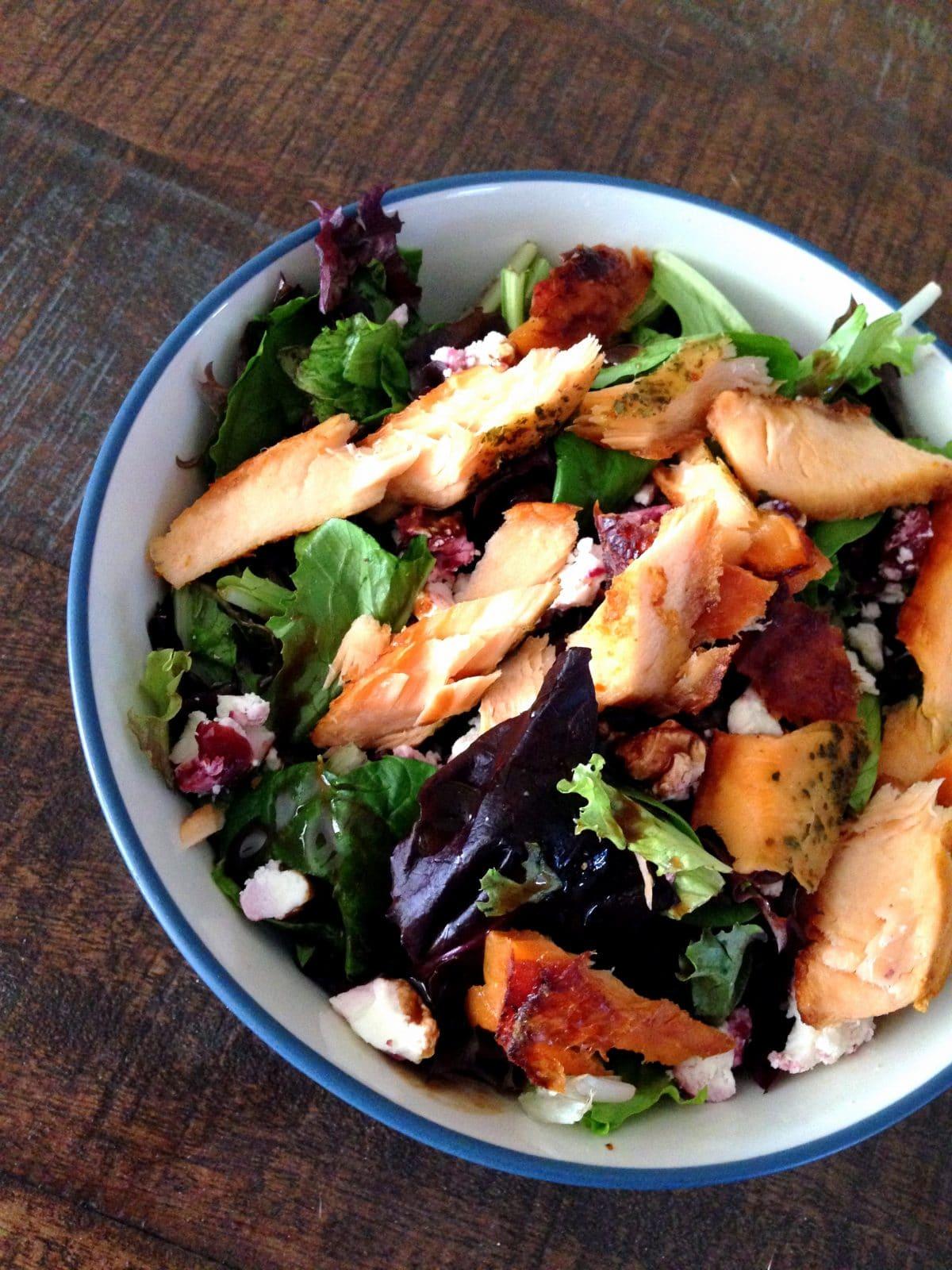 salmon-goat-cheese-salad