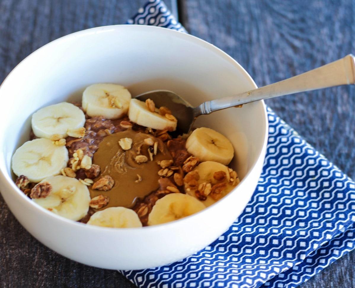 Chocolate sun butter oats 1 of 1