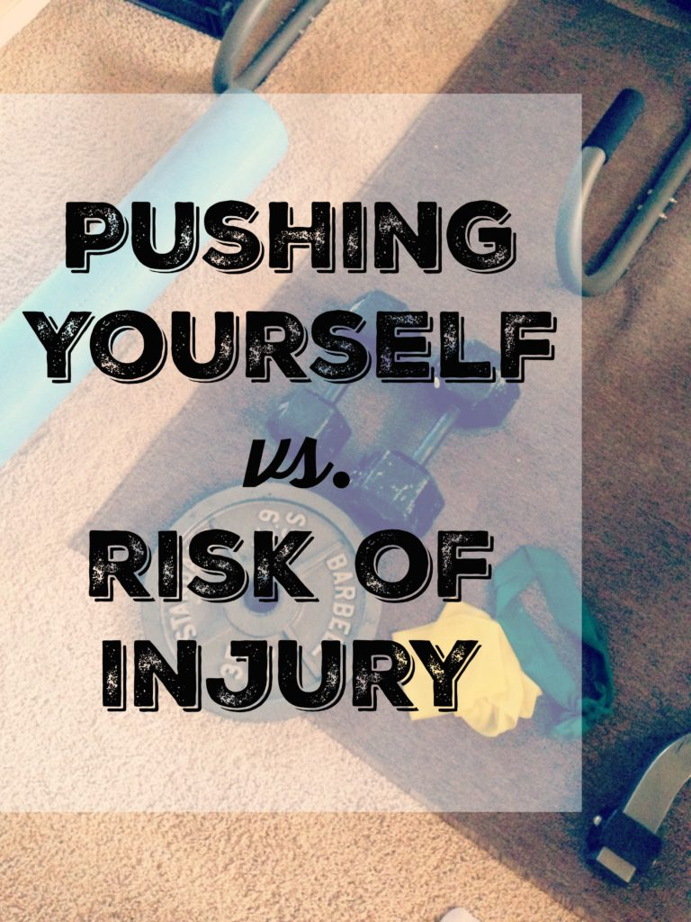 pushing vs injury