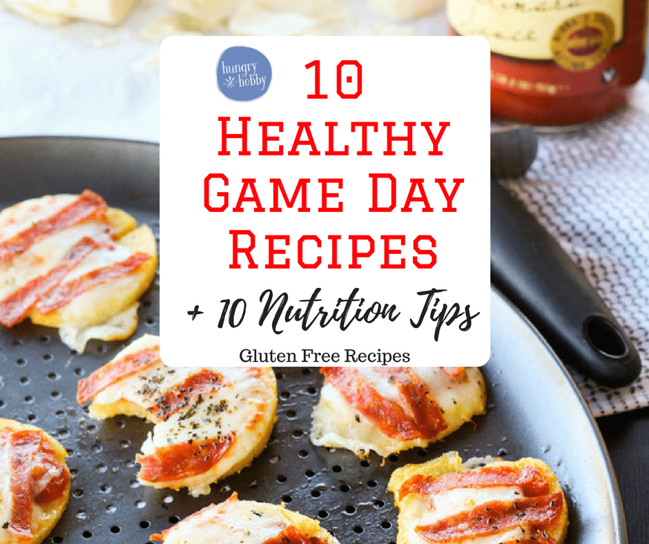 10 healthy game day recipes FB