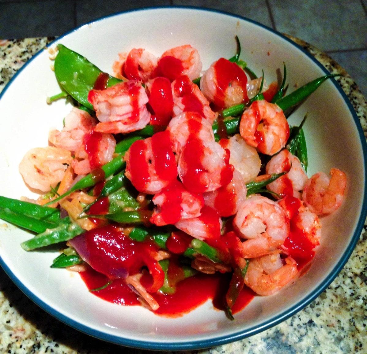 160210 shrimp stir fry