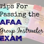 AFAA Group Exercise Certification- Study Tips