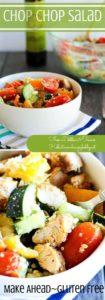 Feeling a salad rut? This juicy, crunchy, chop chop salad will break through that rut in no time!