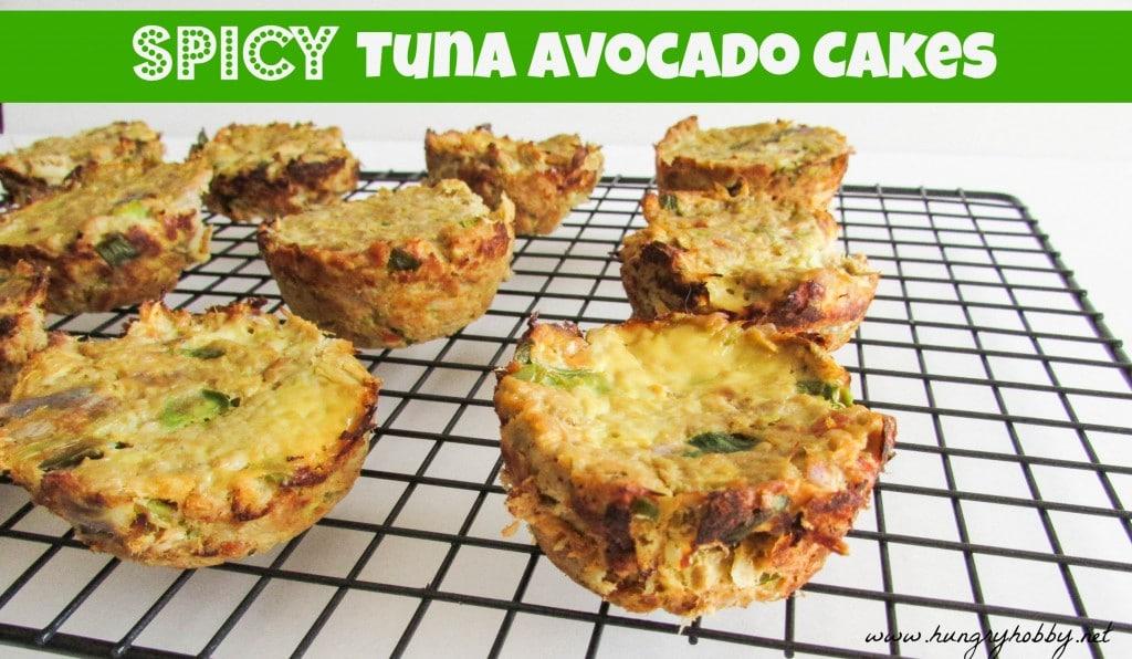Spicy Tuna Avocado Cakes www hungryhobby net 1024x596