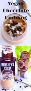 3 Ingredient Vegan Chocolate Pudding