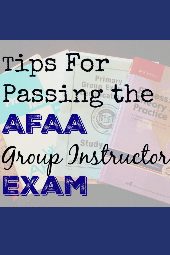 AFAA Group Exercise Certification- Study Tips - Hungry Hobby
