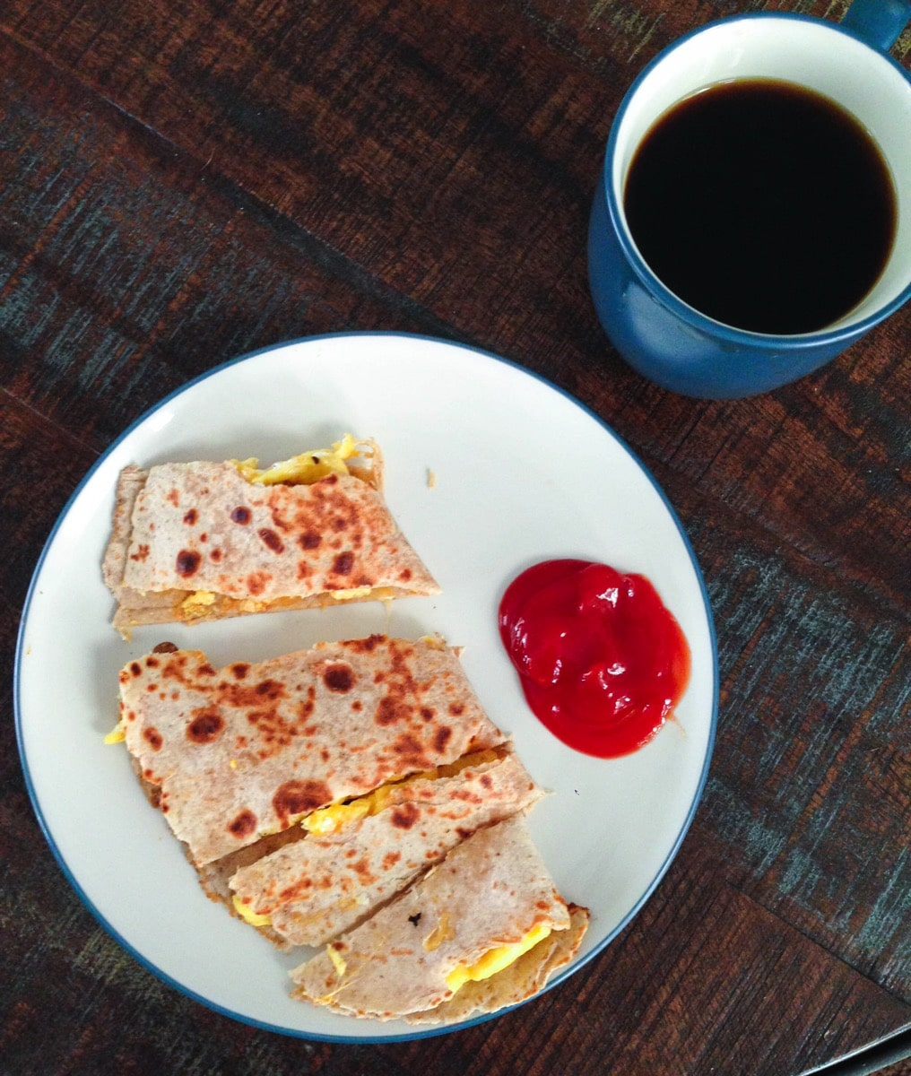 Breakfast quesadilla 1873