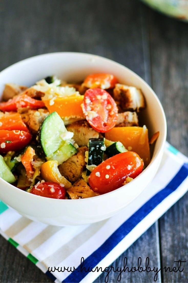 Chop chop salad bowl
