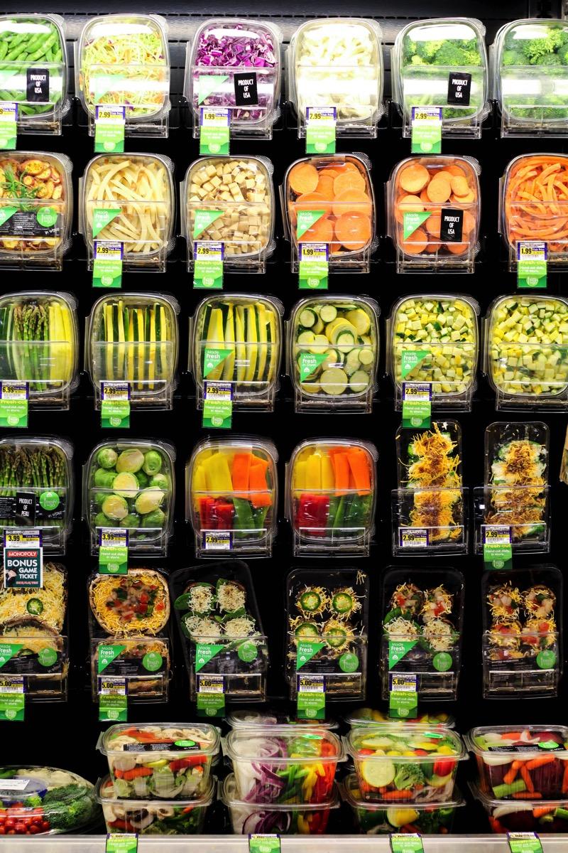 Cut veggies 1