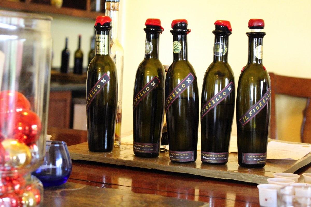 Il fiorello oils bottles