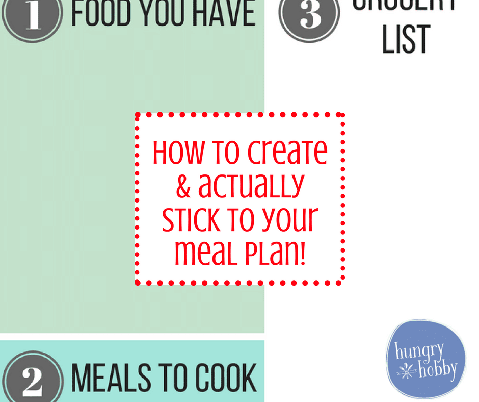 meal plan facebook