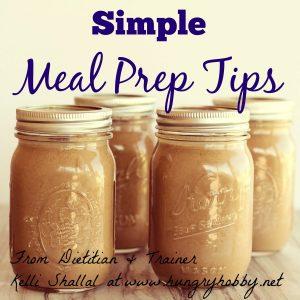 Simple Meal Prep Tips