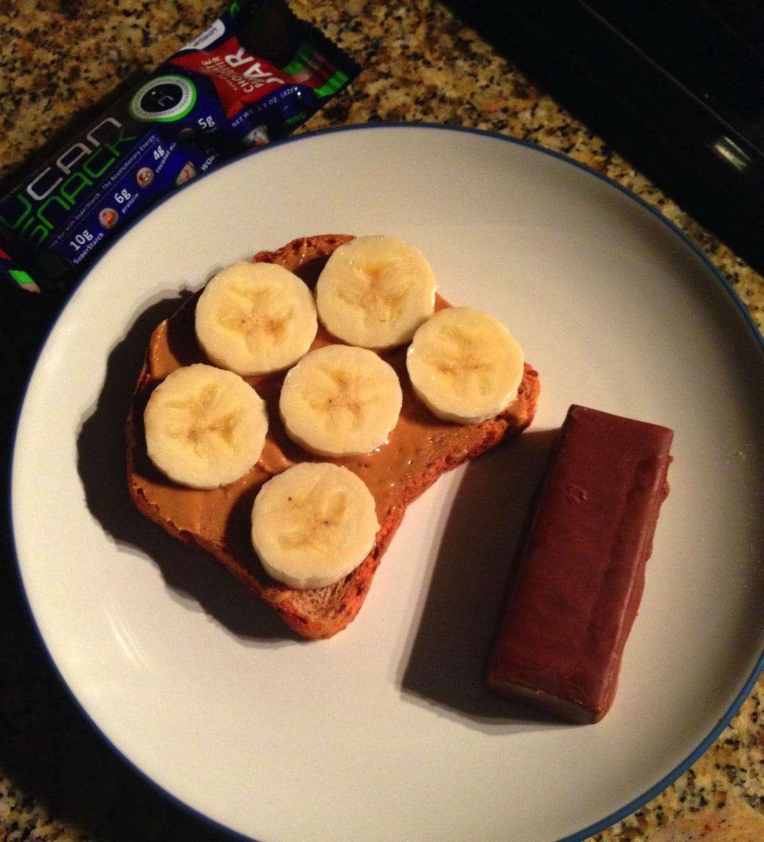 Pre half breakfast