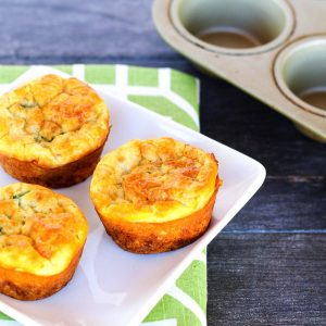 Southwest Cottage Cheese Egg Muffins