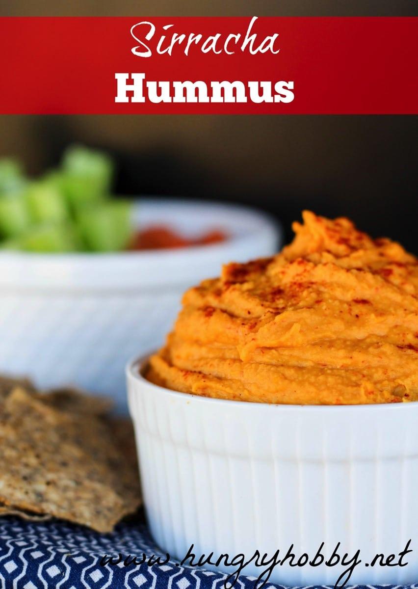 Sirracha hummus