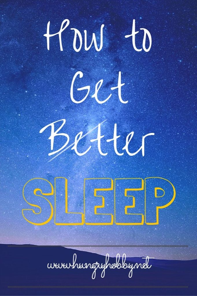 How to sleep better and fix sleep problems