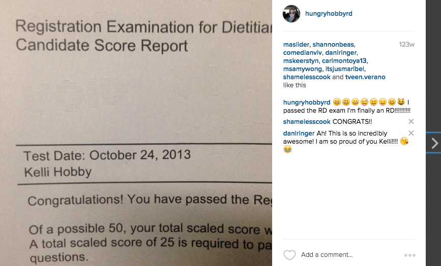registered dietitian coursework