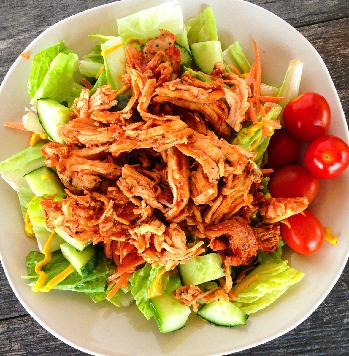 Bbq chicken salad 2433