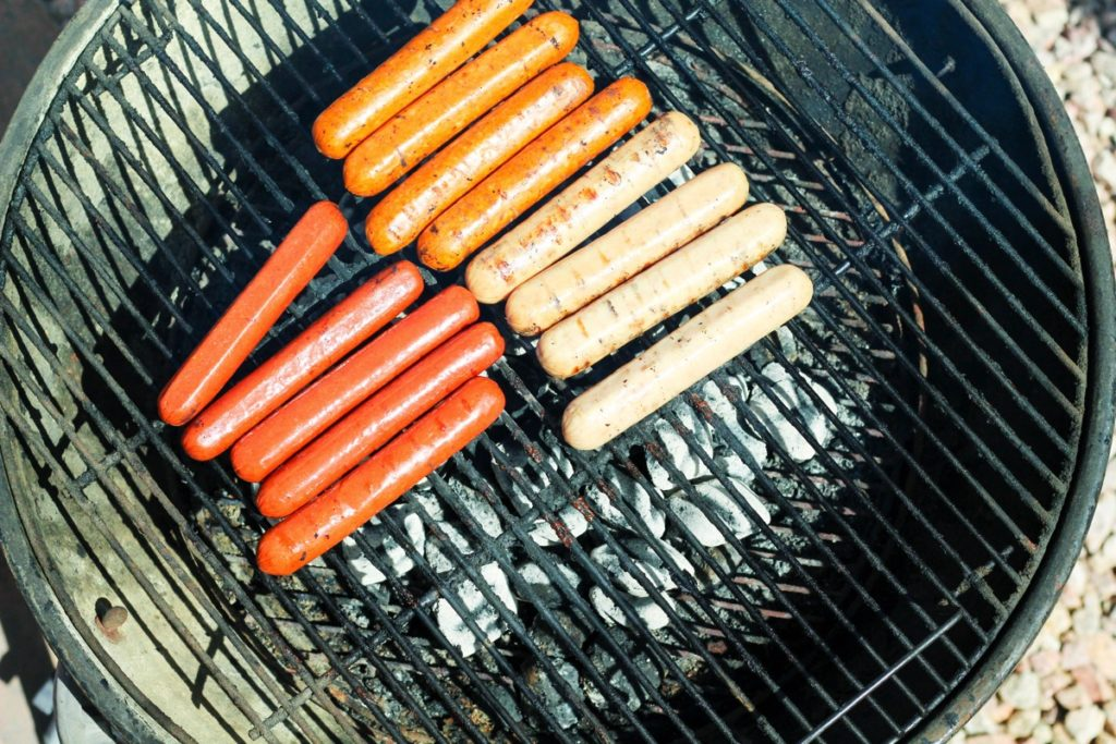 true story food sausage hot dog and cuisnart grill set