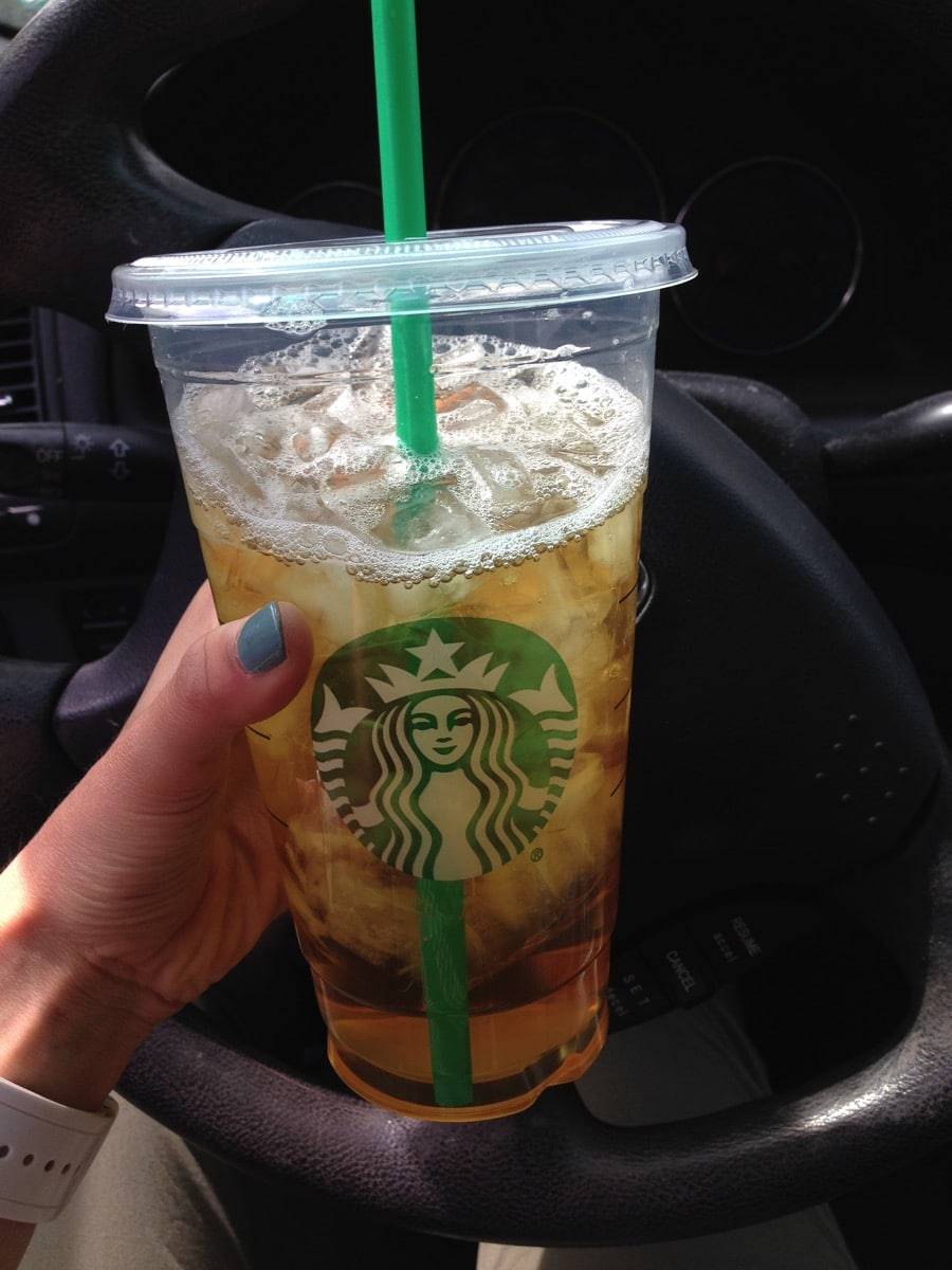 Venti green tea
