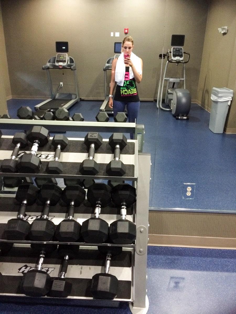 Hotel gym kelli 2