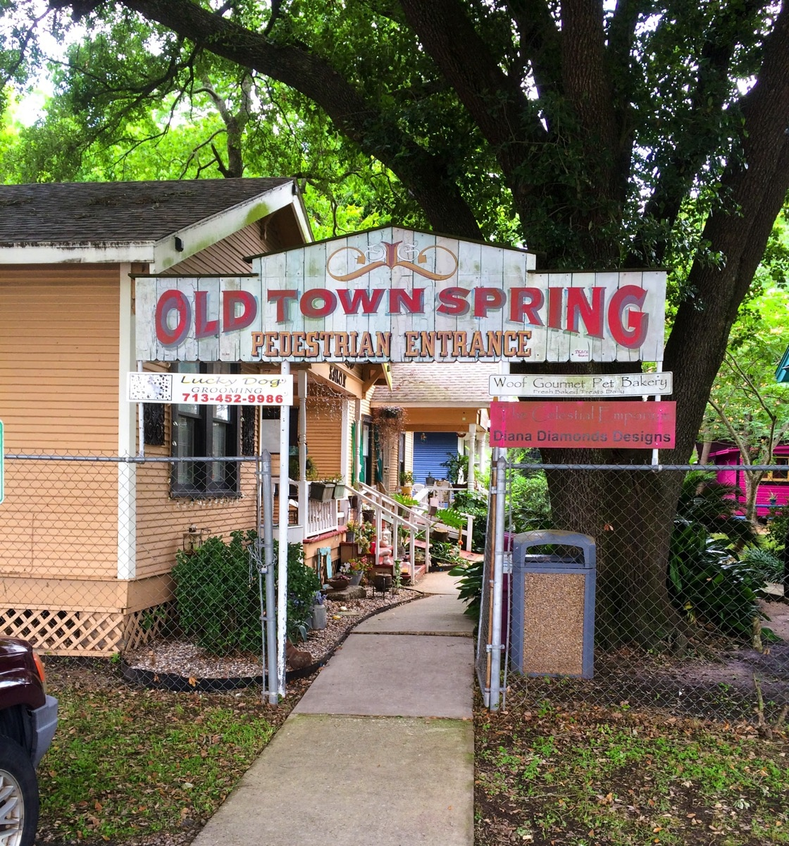 Old town spring sign