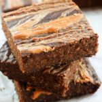 Peanut Butter Swirl Breakfast Brownies (RR June 2016)