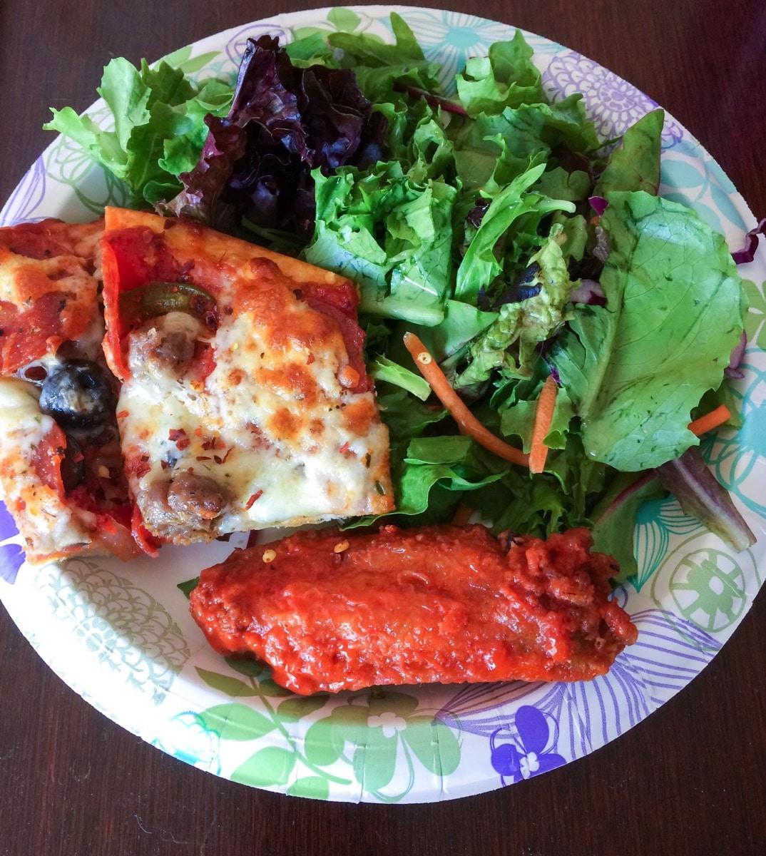 Rosatis pizza plate
