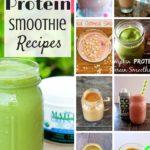 13 Unique & Delicious Protein Smoothies (Recipe Round-Up)